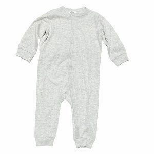 NWT H&M Grey Ribbed Footless PJ's